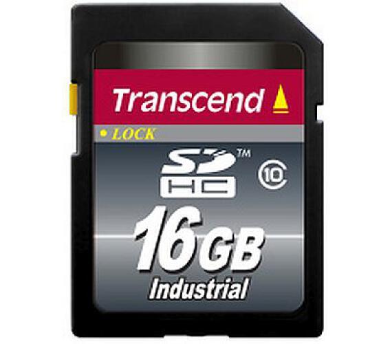 Transcend 16GB SDHC průmyslová paměťová karta + DOPRAVA ZDARMA