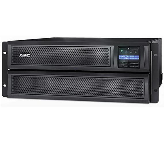 APC Smart-UPS X 3000VA (2700W) Rack 4U/Tower LCD + DOPRAVA ZDARMA
