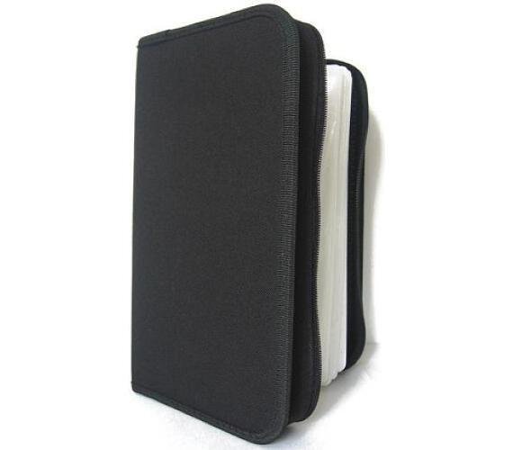 COVER IT box-pouzdro:96 CD zapínací černé (NN204)