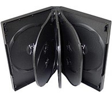 COVER IT Krabička na 8x DVD černá