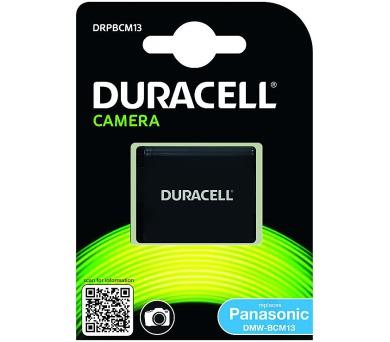 DURACELL Baterie - Baterie do fotoaparátu nahrazuje Panasonic DMW-BCM13 3,7V 1000mAh