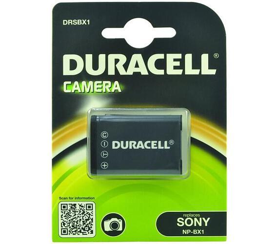 DURACELL Baterie - Baterie do digitálního fotoaparátu nahrazuje Sony NP-BX1 3,7V 950mAh (DRSBX1)