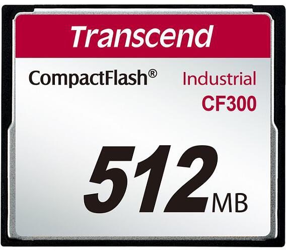 Transcend 512MB INDUSTRIAL CF300 CF CARD