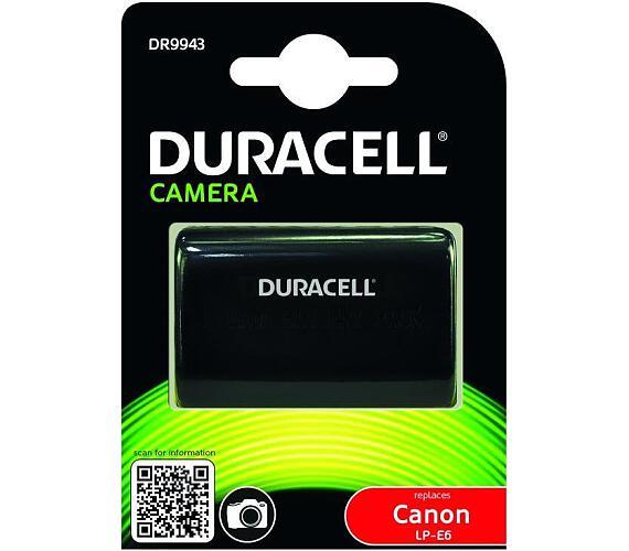 DURACELL Baterie - DR9943 pro Canon LP-E6 + DOPRAVA ZDARMA
