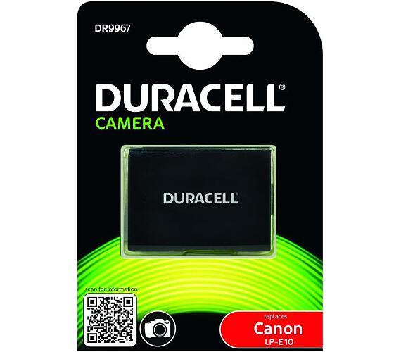 DURACELL Baterie - DR9967 pro Canon LP-E10 + DOPRAVA ZDARMA