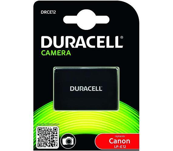 DURACELL Baterie - DRCE12 pro Canon LP-E12 + DOPRAVA ZDARMA