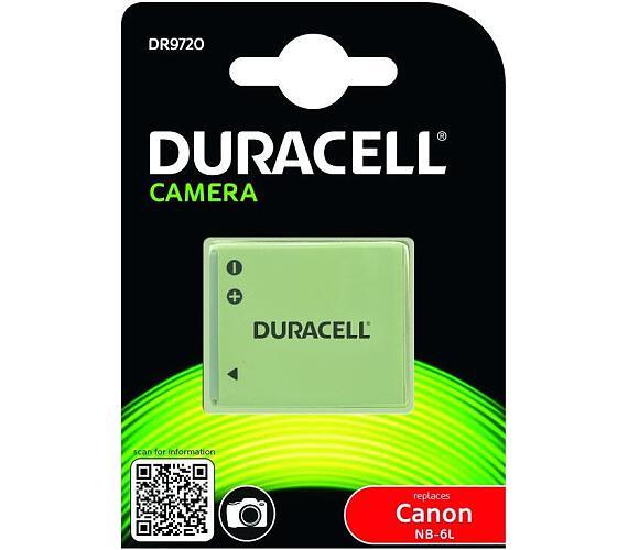 DURACELL Baterie - DR9720 pro Canon NB-6L