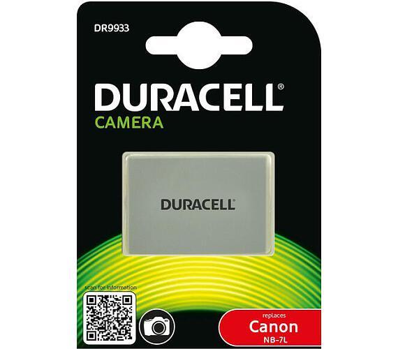 DURACELL Baterie - DR9933 pro Canon NB-7L + DOPRAVA ZDARMA