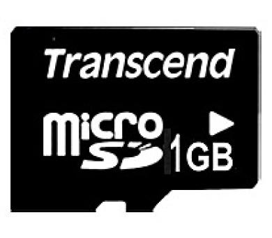 Transcend 1GB microSD paměťová karta (bez adaptéru) (TS1GUSDC)
