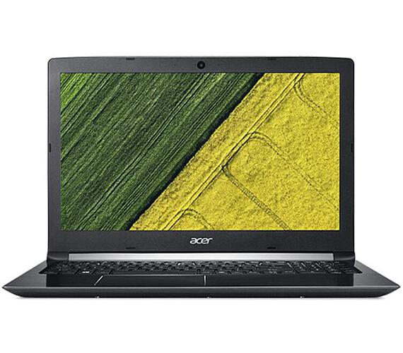"Acer Aspire 5 (A515-51G-8723) i7-8550U/4GB+8GB/128GB SSD M.2+1TB/MX150 2 GB/15.6"" FHD IPS LED matný/W10 Home/Black"