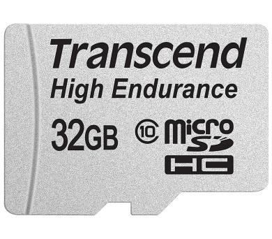 Transcend 32GB microSDHC (Class 10) High Endurance MLC průmyslová paměťová karta (s adaptérem)