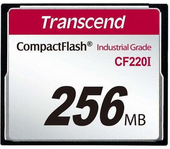 Transcend 256MB INDUSTRIAL TEMP CF220I CF CARD (SLC) Fixed disk and UDMA5 (TS256MCF220I)