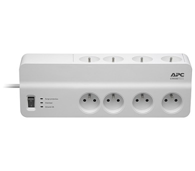 APC Essential SurgeArrest 8 outlets 230V Czech (PM8-FR)