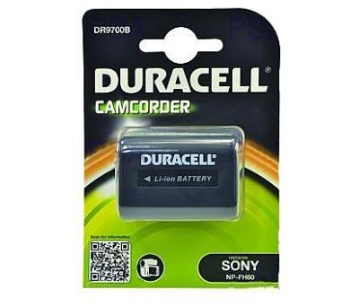 DURACELL Baterie - DR9700B pro Sony NP-FH60 + DOPRAVA ZDARMA