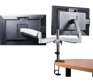 CONNECT IT TWIN ARM stolní držák na LCD monitor