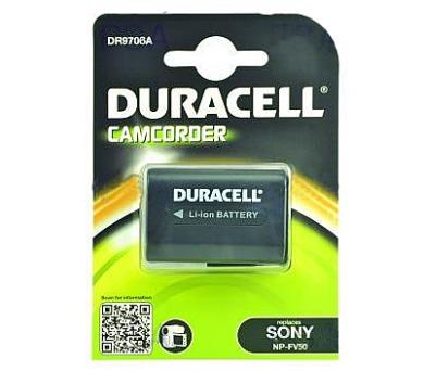 DURACELL Baterie - DR9706A pro Sony NP-FV30 + DOPRAVA ZDARMA