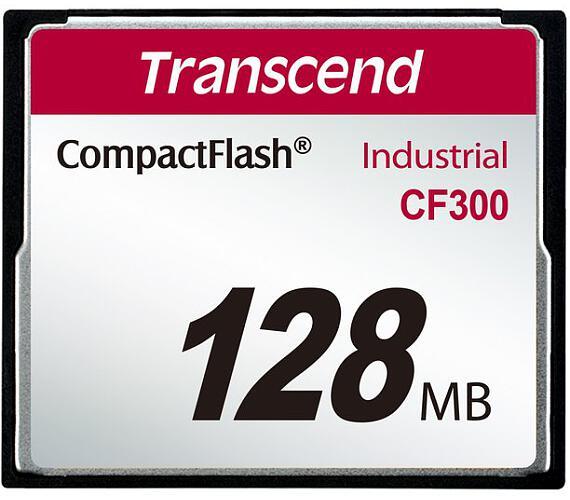 Transcend 128MB INDUSTRIAL CF300 CF CARD