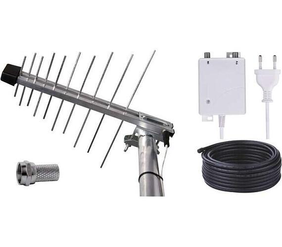 Emos anténa BEN-20 G/Z - DVB-T2/T anténa venkovní