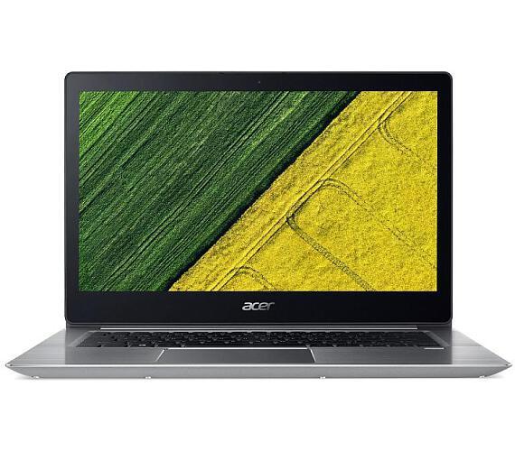 """Acer Swift 3 (SF314-52G-8286) i7-8550U/8 GB+N/A/512GB Intel PCIe SSD+N/14"""" FHD IPS LCD/MX150 with 2 GB/BT/W10 Home/Silver + DOPRAVA ZDARMA"""