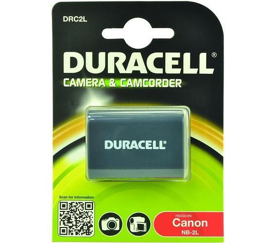 DURACELL Baterie - DRC2L pro Canon NB-2L + DOPRAVA ZDARMA