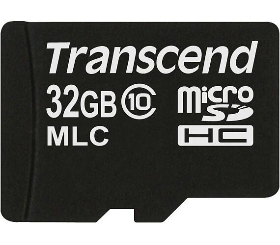 Transcend 32GB microSDHC (Class 10) MLC průmyslová paměťová karta (bez adaptéru) + DOPRAVA ZDARMA