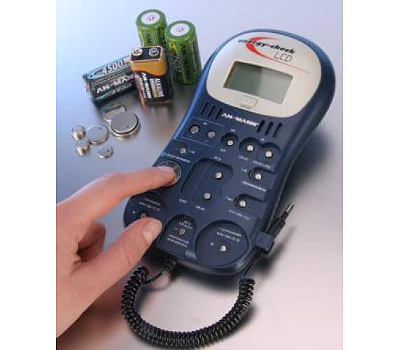 Ansmann Energy Check LCD - tester baterií + DOPRAVA ZDARMA