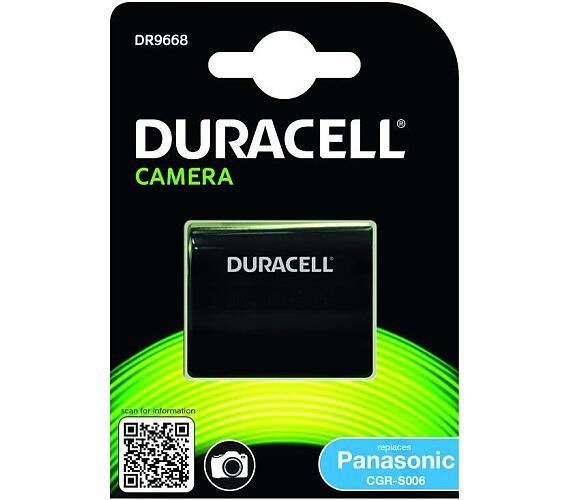 DURACELL Baterie - DR9668 pro Panasonic CGR-S006E/1B