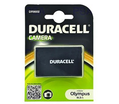 DURACELL Baterie - DR9902 pro Olympus BLS-1 + DOPRAVA ZDARMA