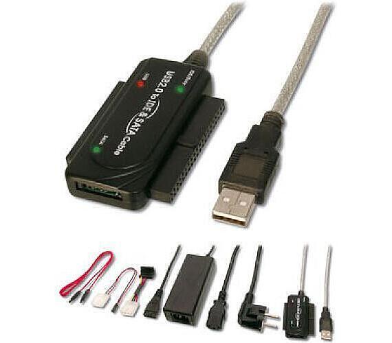 GEMBIRD Kabel redukce USB-IDE/SATA 2,5´´/3,5´´ (KAB051C17)
