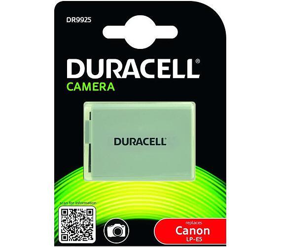 DURACELL Baterie - DR9925 pro Canon LP-E5 + DOPRAVA ZDARMA