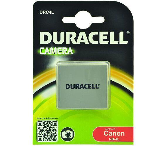 DURACELL Baterie - DRC4L pro Canon NB-4L