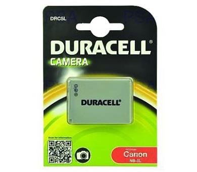 DURACELL Baterie - DRC5L pro Canon NB-5L