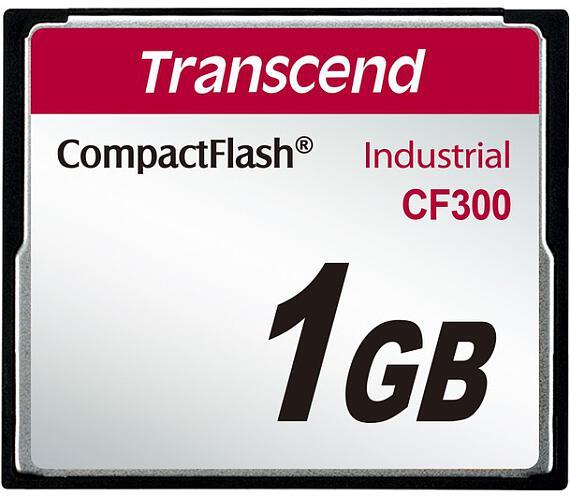 Transcend 1GB INDUSTRIAL CF300 CF CARD