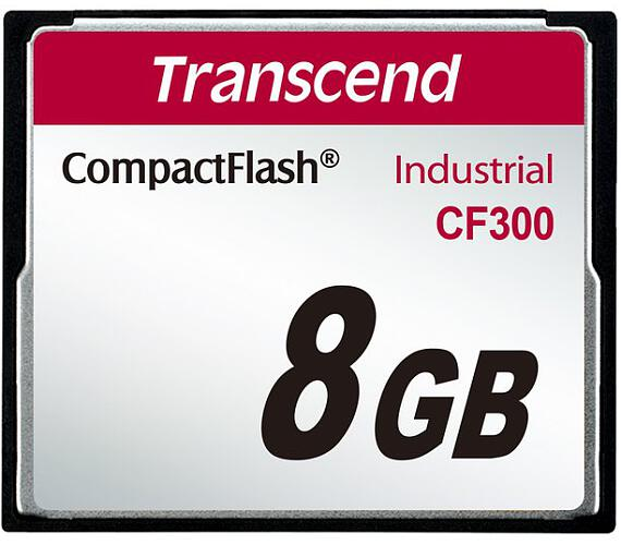 Transcend 8GB INDUSTRIAL CF300 CF CARD