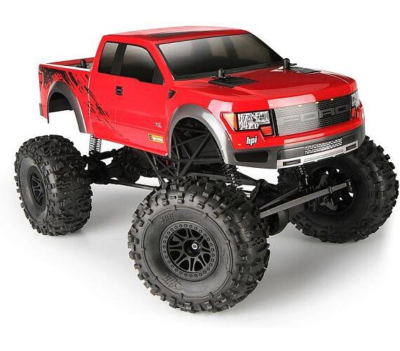 HPI RC Auto - Crawler King s karoserií Ford Raptor RTR s 2,4GHz soupravou
