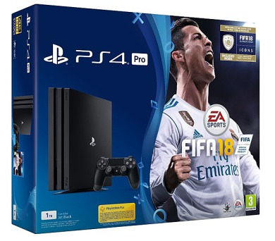 Sony PS4 Pro 1TB + FIFA 18