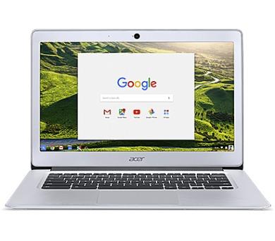 Acer Chromebook 14/N3160/4G/64GB/Chrome stříbrný + DOPRAVA ZDARMA