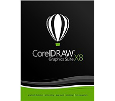 CorelDRAW Graphics Suite X8 License Media Pack BOX