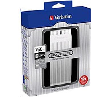 "VERBATIM HDD 2.5"" 750GB Traveller USB 3.0"