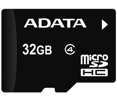 ADATA Micro SDHC karta 32GB Class 4 + OTG čtečka USB 2.0