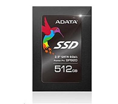 """ADATA SSD 512GB Premier Pro SP920 2,5"""" SATA III 6Gb/s 7mm"""