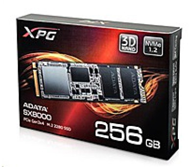 ADATA SSD PCIE 256GB SX8000 PCIE 3.4 (R:2400