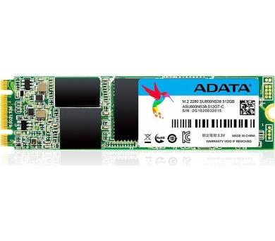ADATA SSD 512GB Ultimate SU800 M.2 2280 80mm (R:560/ W:520MB/s) (ASU800NS38-512GT-C) + DOPRAVA ZDARMA