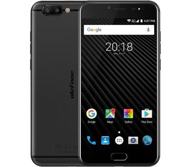 "UleFone smartphone T1 5,5"" Black 6/64GB Android 7 dual camera octacore + pouzdro"