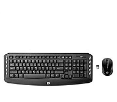 HP Wireless Classic Desktop - anglická - KEYBOARD (LV290AA#ABB) + DOPRAVA ZDARMA