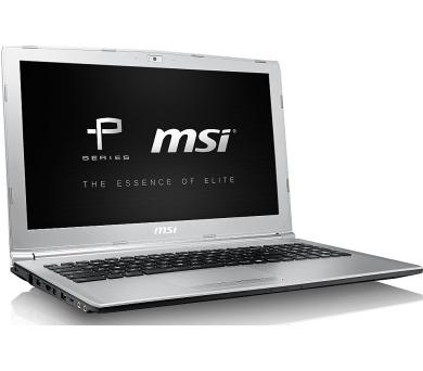 """MSI PL62 7RC-054CZ 15,6"""" FHD /i7-7700HQ/MX150 2GB/8GB/SSD 256GB/Gigabit LAN/WIN10"""
