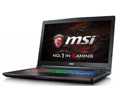 """MSI GT62VR 7RE-423CZ Dominator Pro 15,6""""FHD/i7-7700HQ/GTX1070 8GB/32GB/SSD 512+ 1 TB 7200ot./kiler combo/W10"""