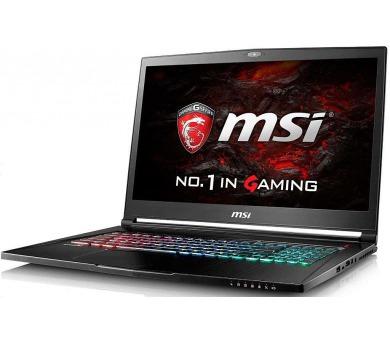 MSI GS73VR 7RG-050CZ Stealth Pro 17,3 FHD /i7-7700HQ/GTX1070 8GB/16GB/2TB 5400ot.+SSD 256GB/killer combo/WIN10