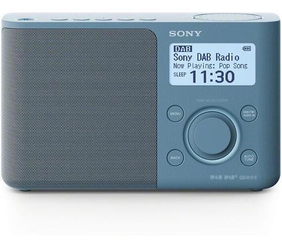 SONY XDR-S61DL Přenosné FM/DAB rádio + DOPRAVA ZDARMA