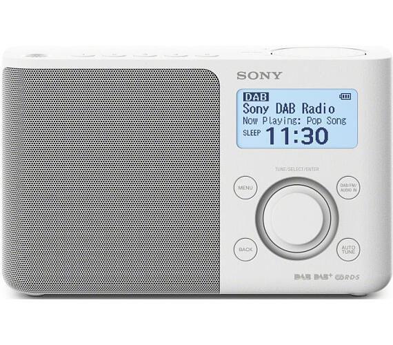 SONY XDR-S61DW Přenosné FM/DAB rádio + DOPRAVA ZDARMA